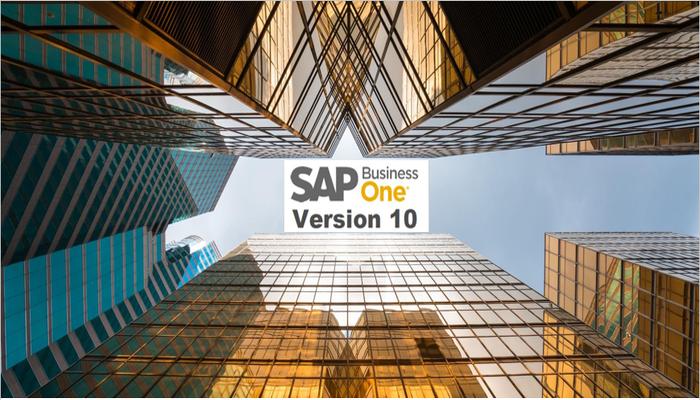 SAP Business One 10. Lista completă a noilor funcţionalităţi