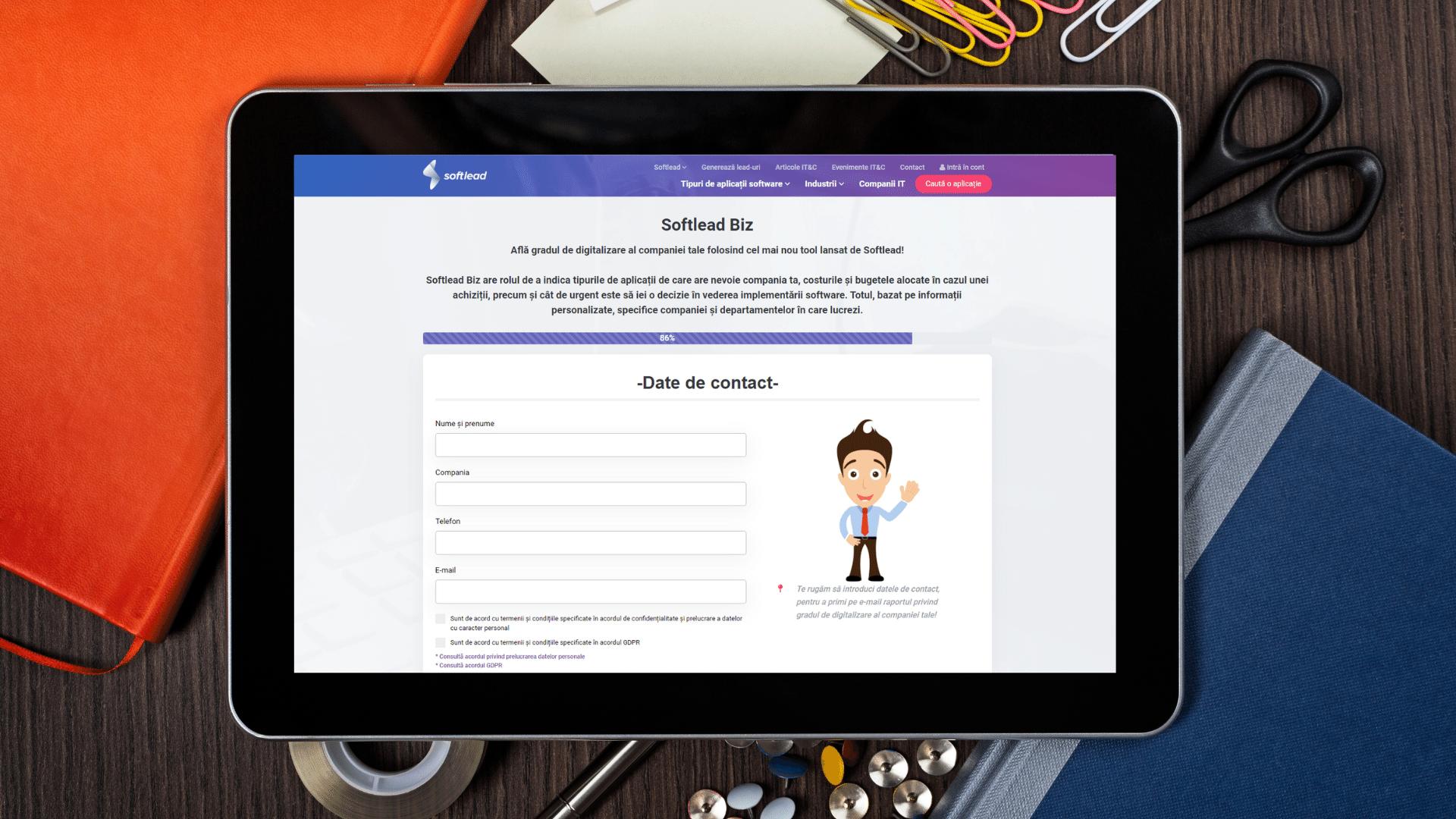 Softlead lansează primul tool ce măsoara gradul de digitalizare al companiilor