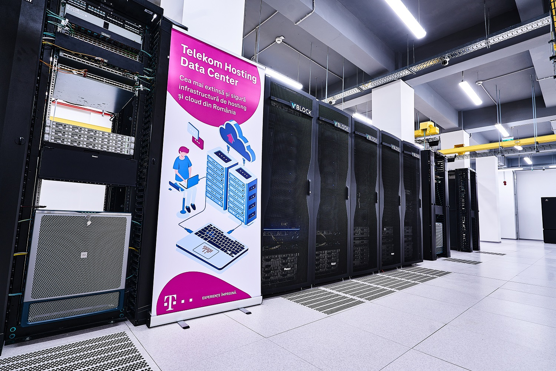 Telekom Romania lansează două noi centre de găzduire a datelor în urma unei investiții de 3,5 milioane de euro