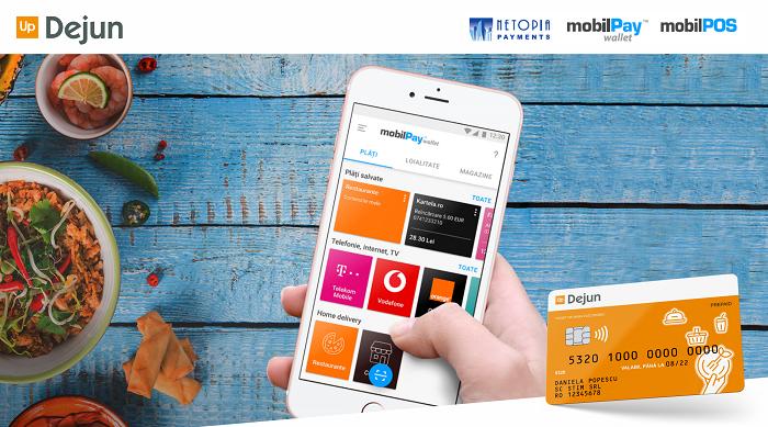 O noua posibilitate de plată online pentru posesorii de carduri de masa Up Dejun