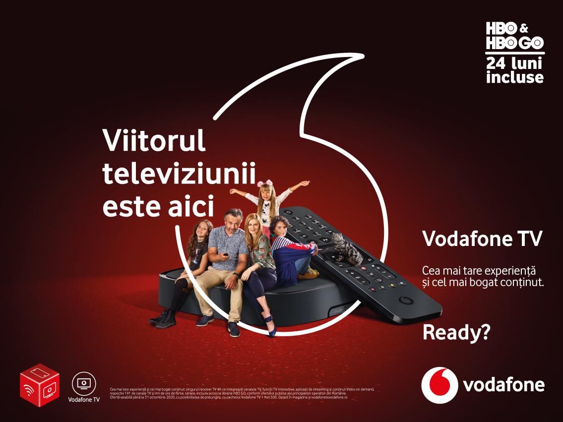 Vodafone revoluționează experiența TV cu un nou serviciu inovator