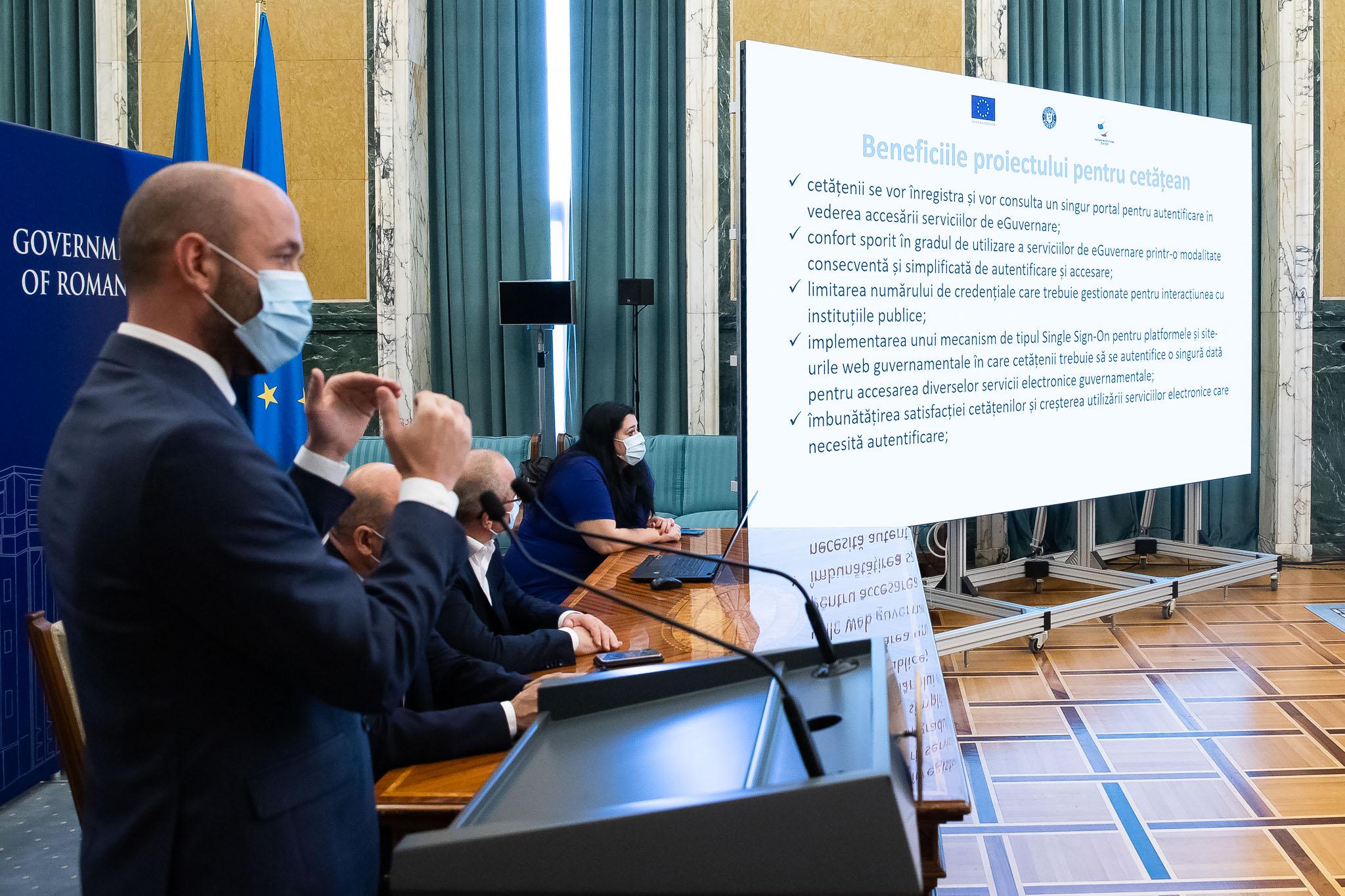 Toate serviciile publice de eGuvernare vor putea fi accesate prin identitatea digitală centralizată