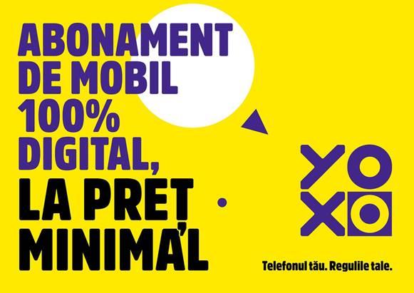 YOXO, abonamentul de mobil 100% digital, cu o nouă identitate de brand şi cu noi beneficii