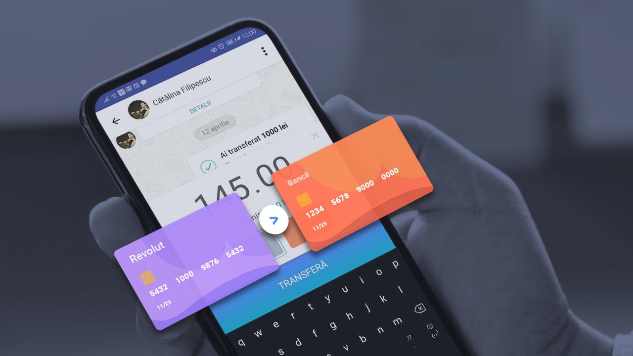 Cun folosești cardul Revolut în aplicația Volt