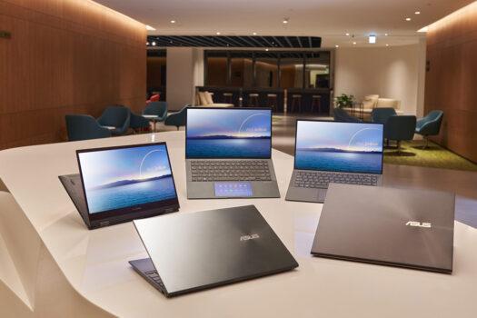Noi laptopuri ASUS cu procesoare Intel Core din generația a 11-a