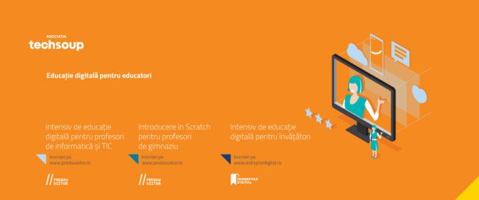 Noi cursuri online gratuite de educație digitală și programare vizuală