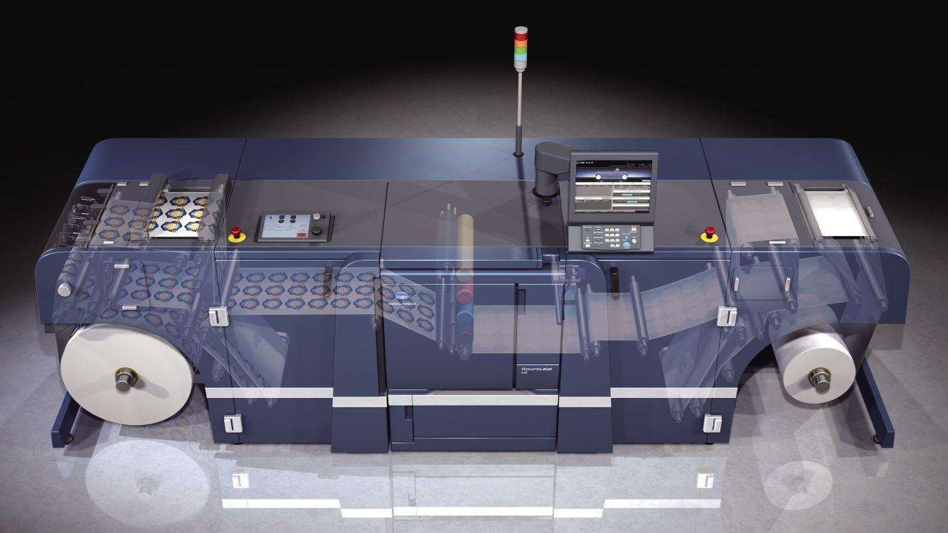 Primele sisteme AccurioLabel 230 instalate în România