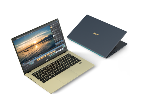 Noile notebook-uri Acer din seriile  Swift, Spin și Aspire