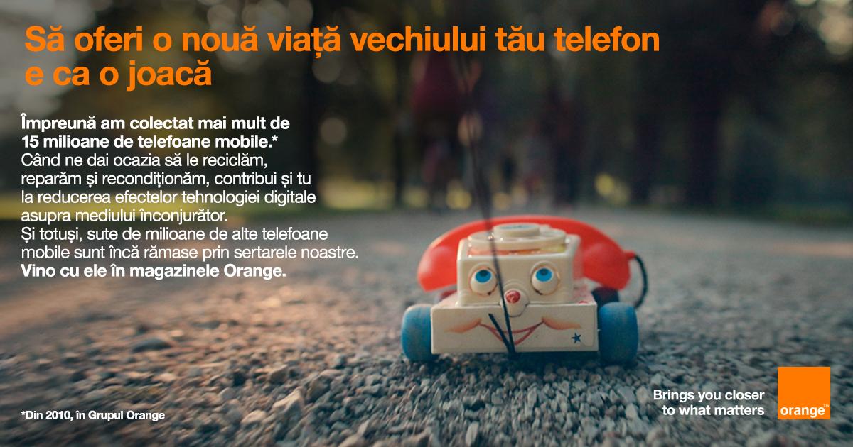 Orange lansează un apel la reducerea impactului echipamentelor digitale asupra mediului