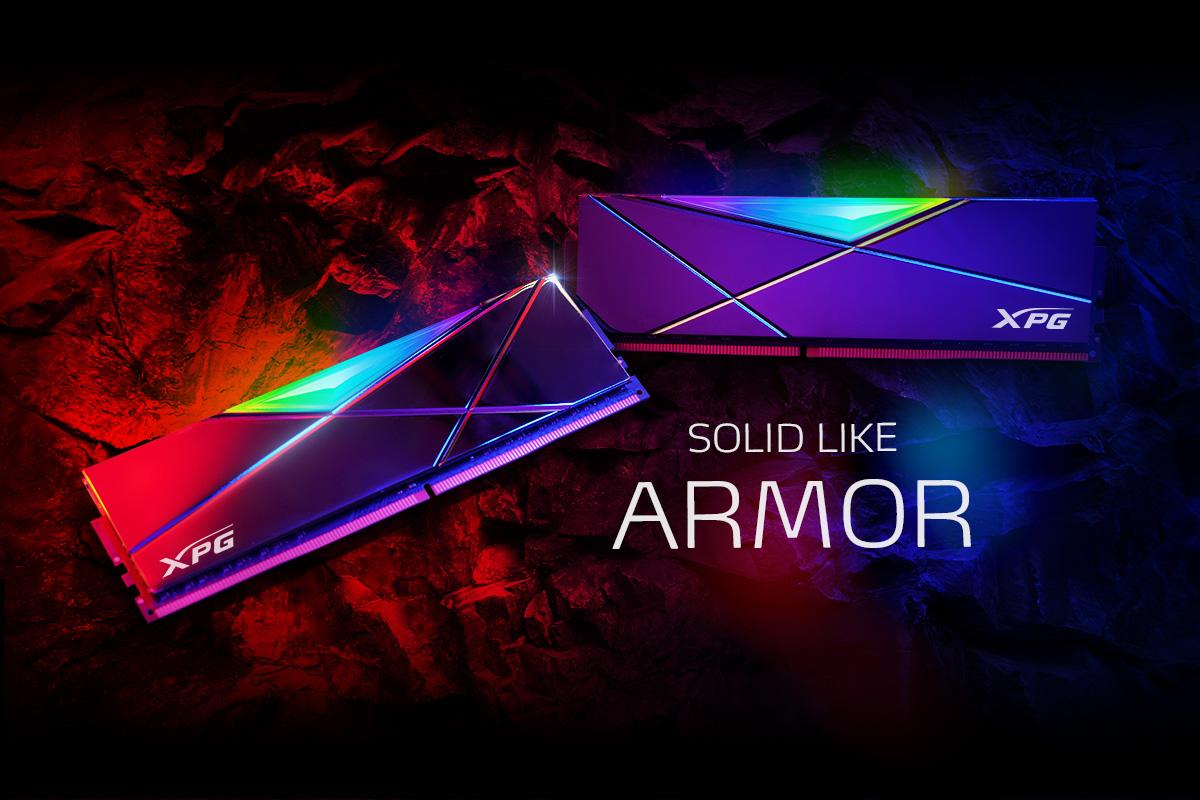 XPG lansează modulele de memorie DDR4 RGB SPECTRIX D50 Xtreme