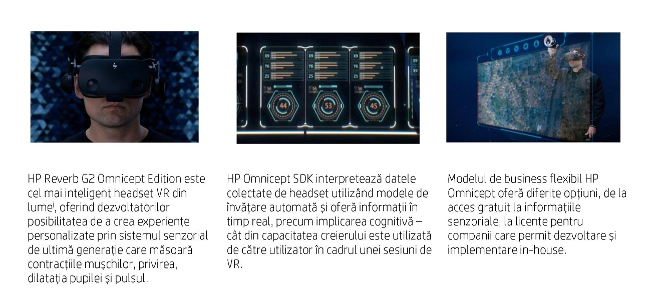 HP prezintă noua eră a realității virtuale pentru dezvoltatori și companii