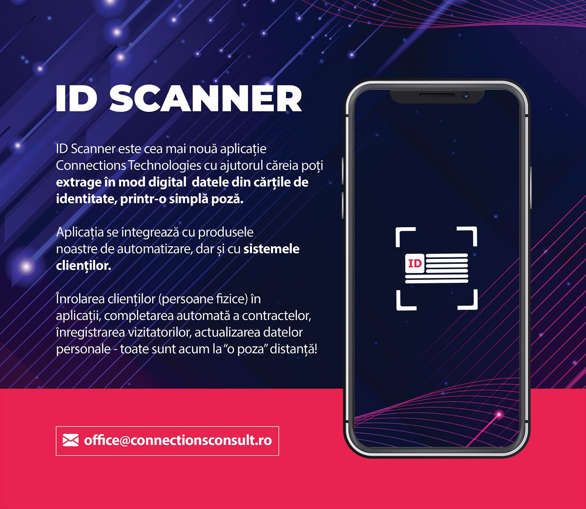 Aplicația ID Scanner extrage datele din cărțile de identitate printr-o simplă poză