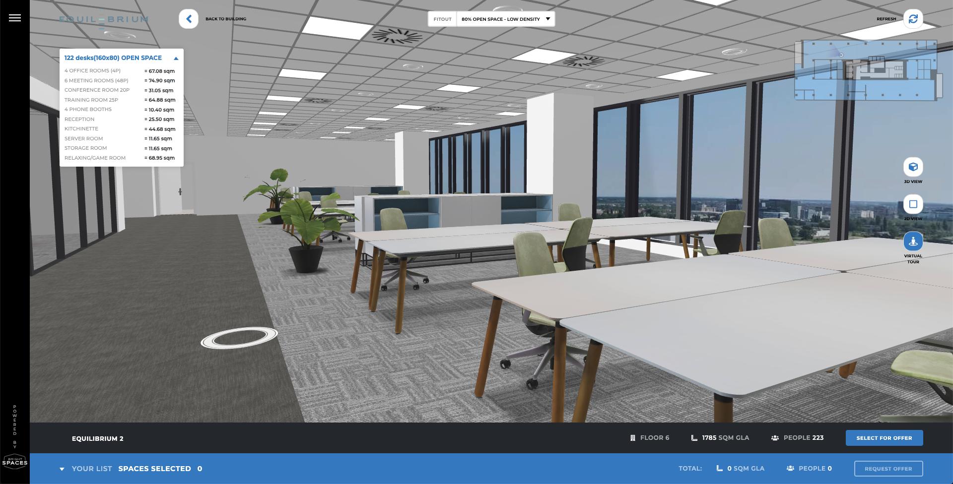 Prezentarea spațiilor de birouri, transformată prin tehnologie