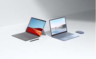 Microsoft Surface Laptop Go, noul Surface Pro X și noi accesorii
