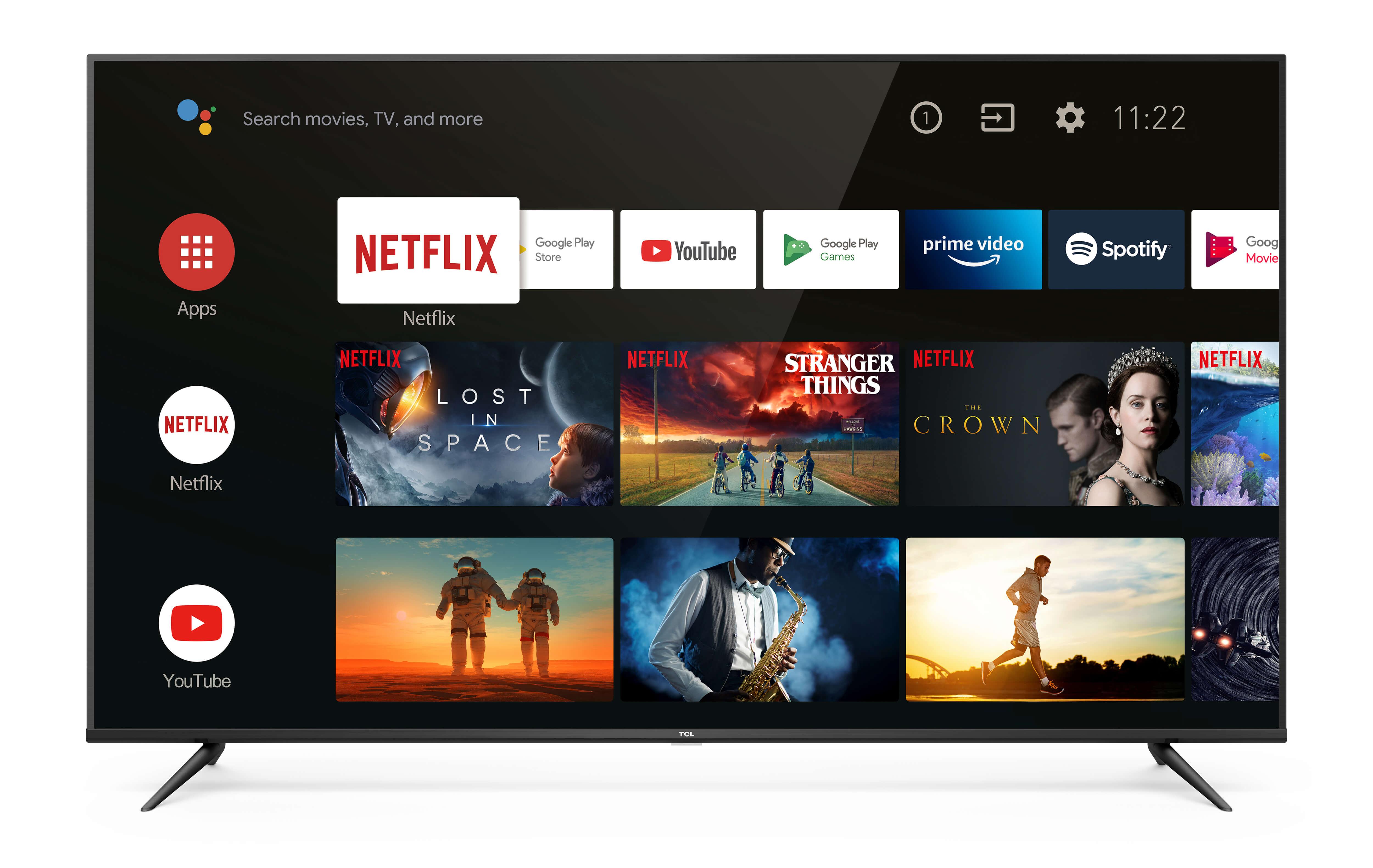 Televizorul TCL - 55p615k Android