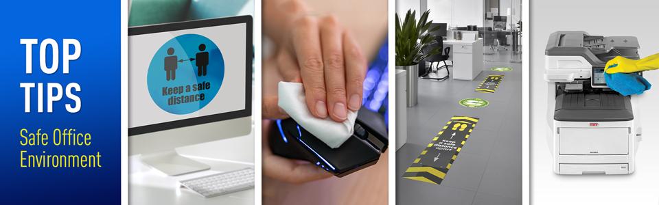 OKI oferă recomandări pentru redeschiderea birourilor si igienizarea imprimantelor în pandemie