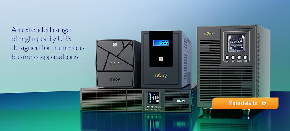 nJoy adaugă noi direcții de dezvoltare lansând UPS și accesorii pentru mediul industrial