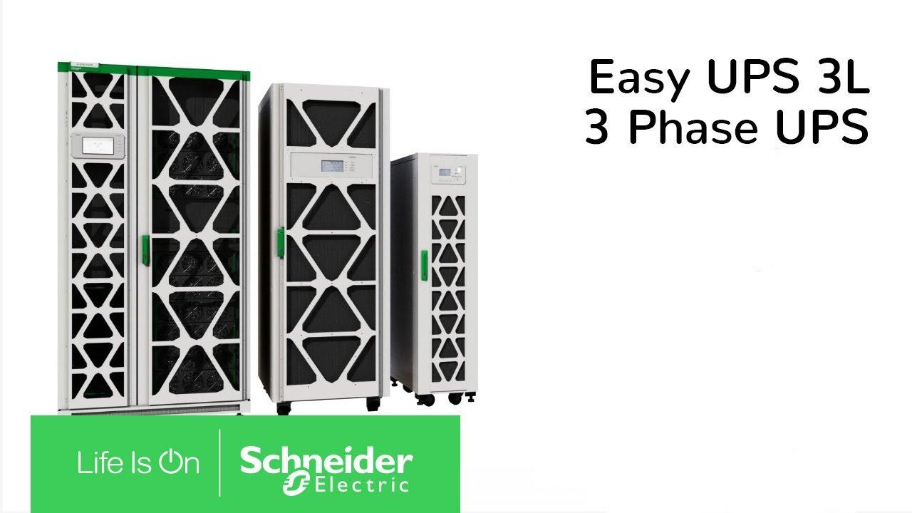 Schneider Electric lansează Easy UPS 3L