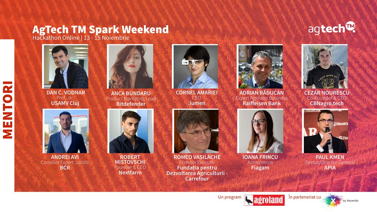 Începe AgTech TM Spark Weekend