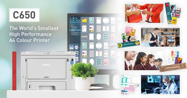 OKI Europe lansează cea mai mică imprimantă color A4 de înaltă performanță din lume
