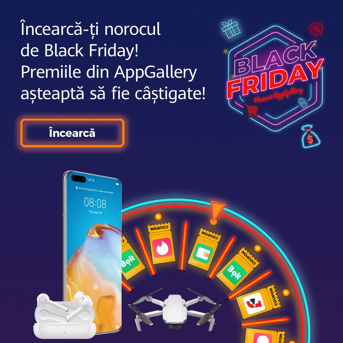 Noua campanie Huawei cu premii atractive pentru toți utilizatorii de smartphone cu Android