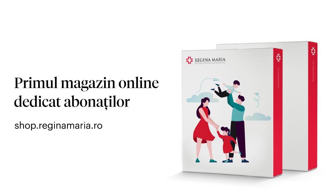 Rețeaua REGINA MARIA lansează prima platformă de e-commerce dedicată abonaților