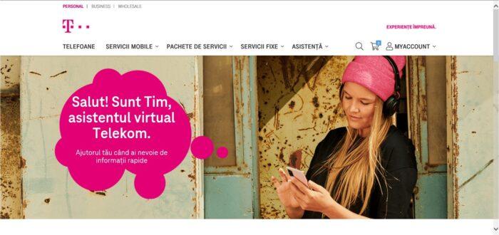 Telekom Romania lansează chatbot-ul Tim