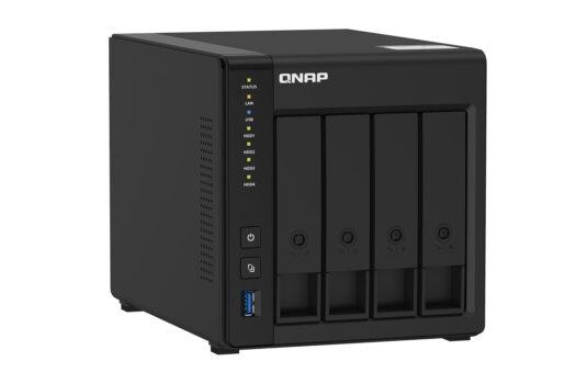 QNAP a lansat serverul NAS TS-451D2 cu 4 sertare, procesor Intel și management avansat al fișierelor