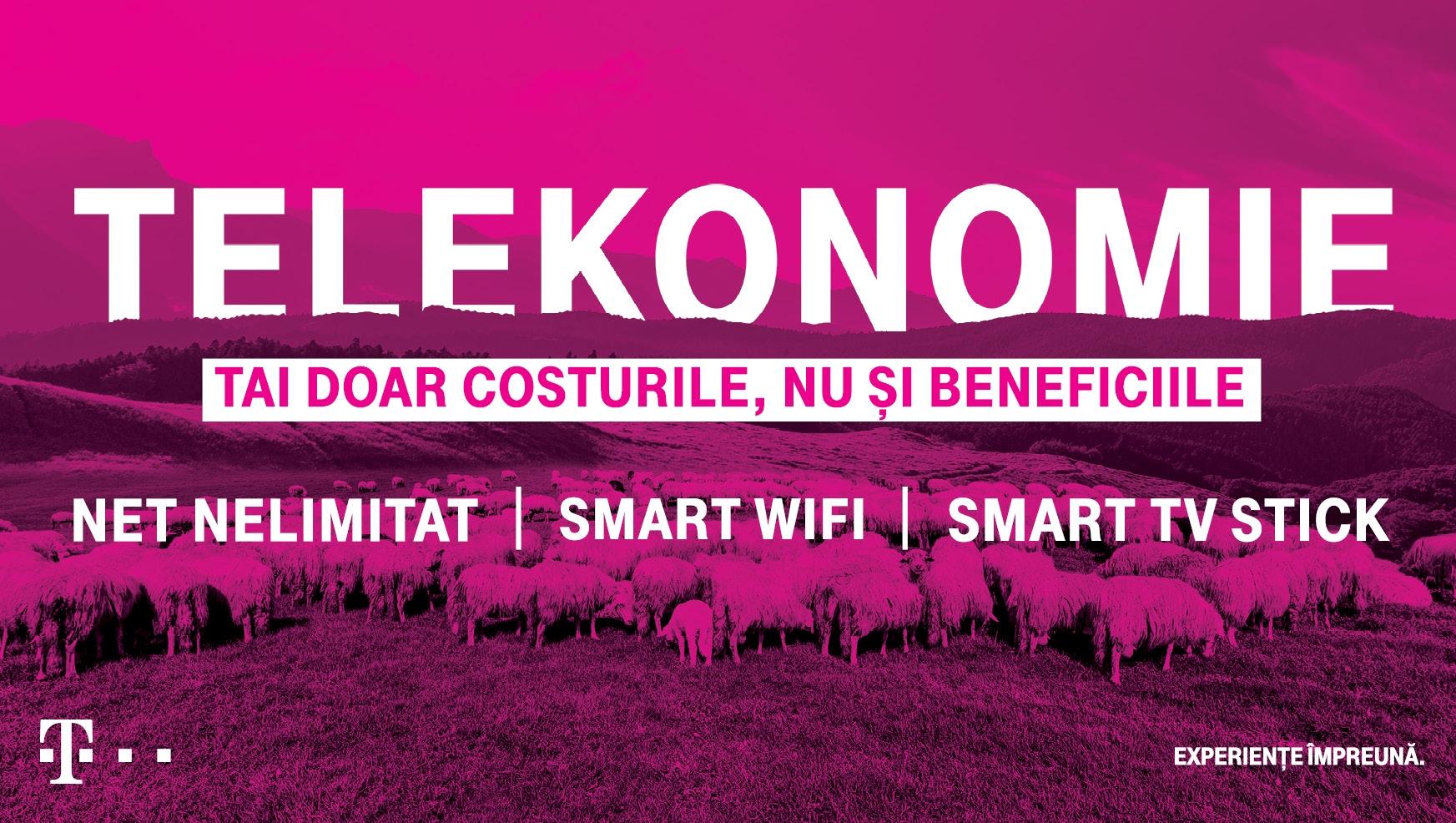 Telekom taie costurile, nu și beneficiile