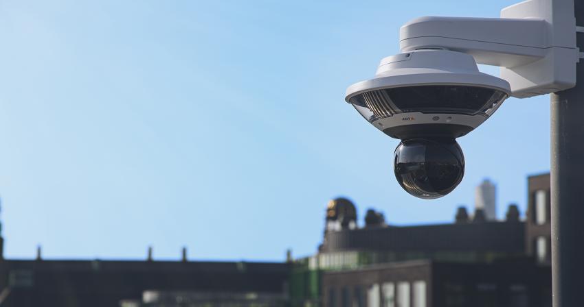 AXIS Q6100-E, o nouă camera 360 de grade