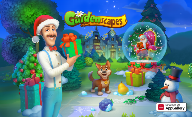 Gardenscapes_Explore it on AppGallery
