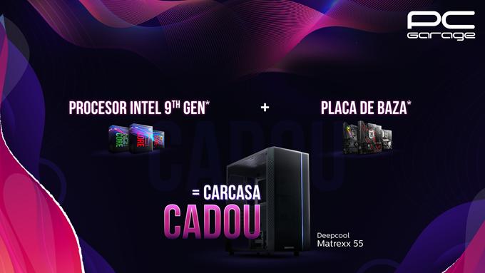 """PC Garage anunță campania """"Te echipăm Gratuit – Intel Edition"""""""