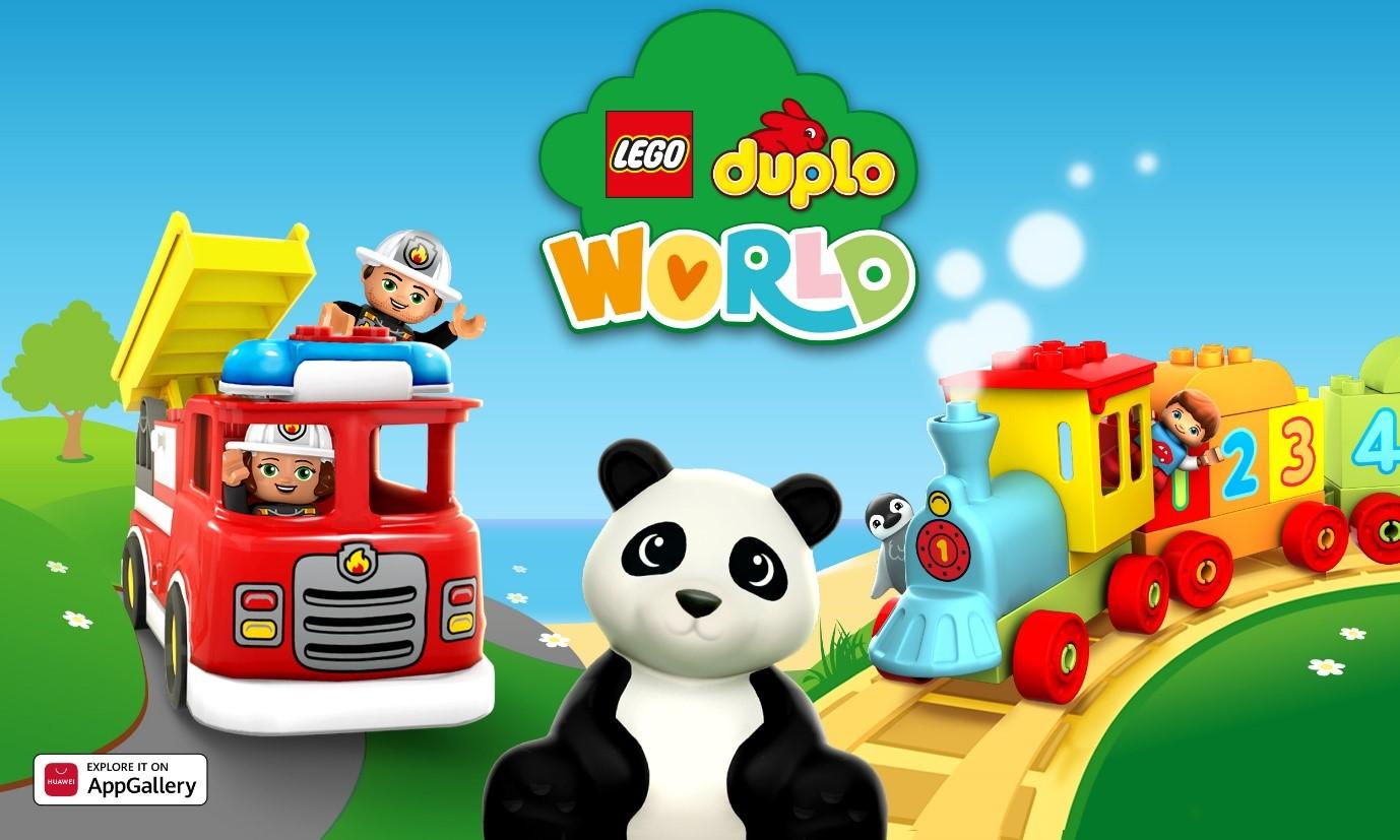 LEGO DUPLO WORLD se alătură AppGallery