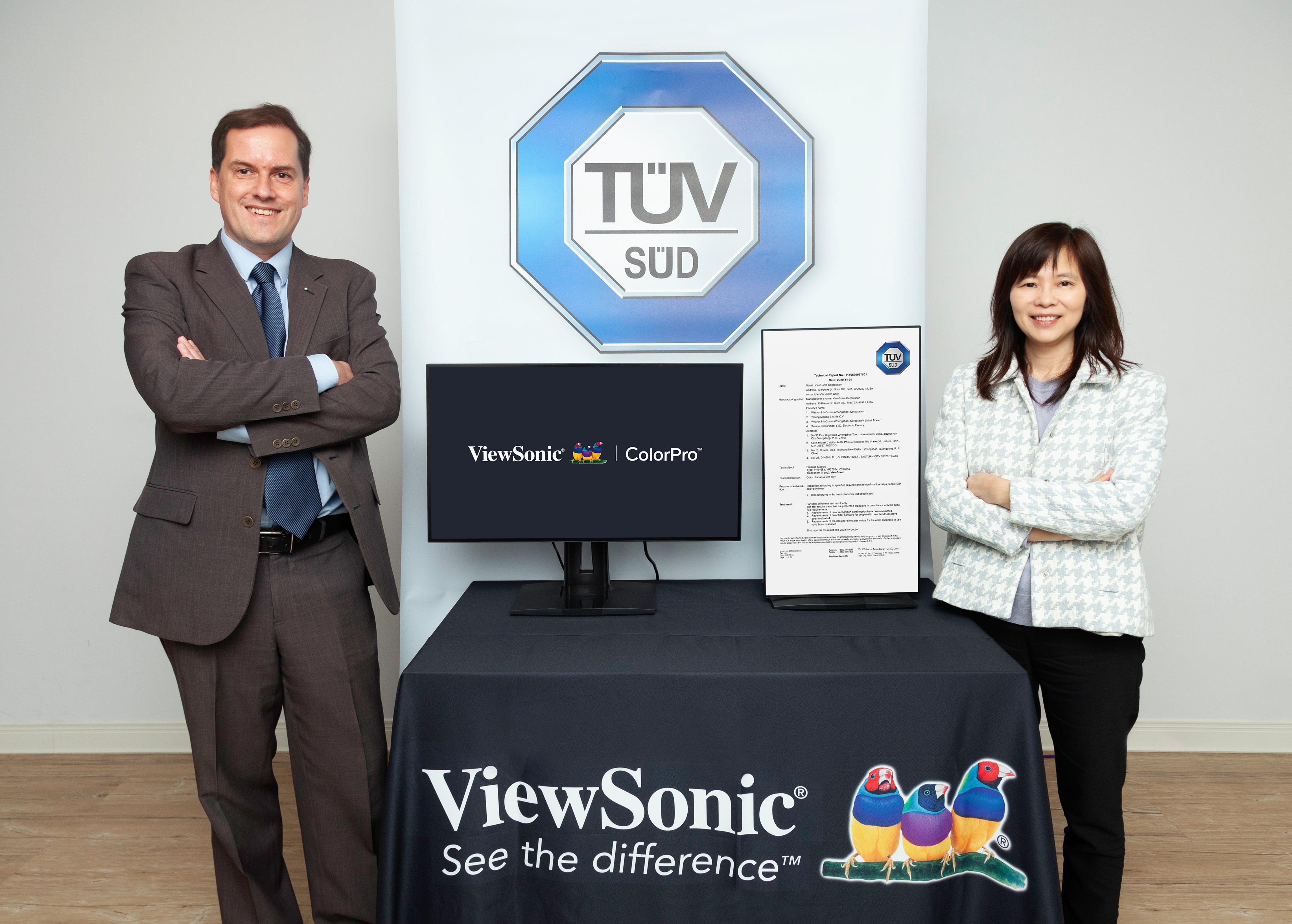 News Photo_ViewSonic TUV SUD partnership