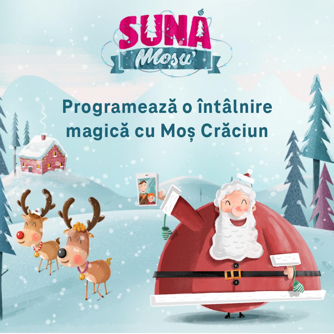 Telekom Romania lansează proiectul Sună Moșu