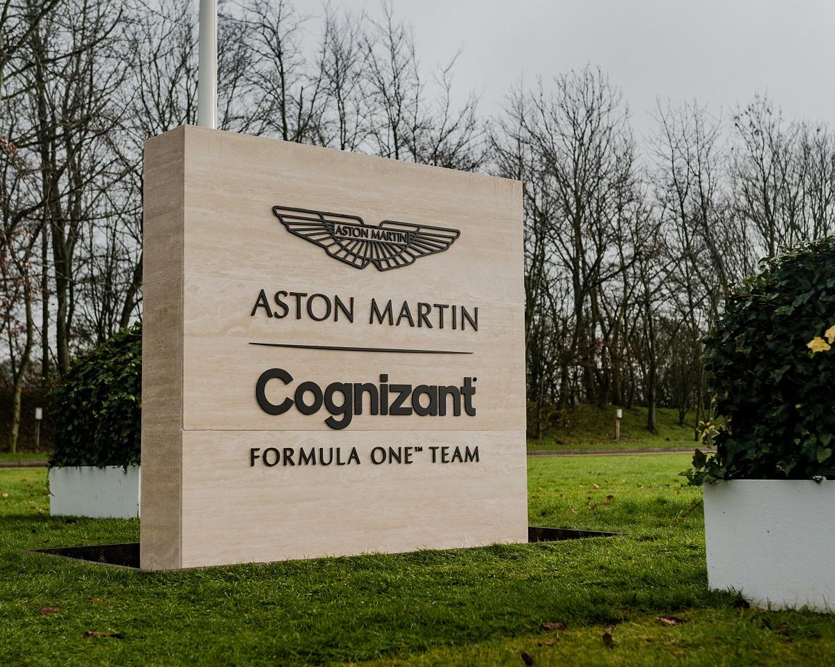 Cognizant devine partener al echipei de Formula 1 Aston Martin
