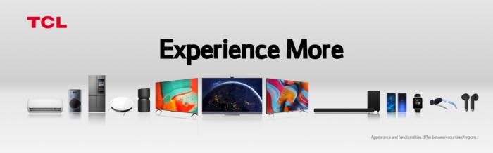 Lansări de top ale TCL la CES 2021: televizoare, dispozitive audio, mobile și de uz casnic