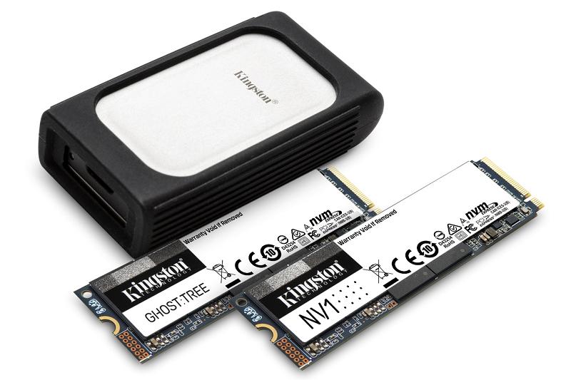 Kingston prezintă noua gamă de SSD-uri NVMe