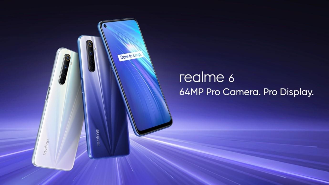 realme 6 este disponibil în România