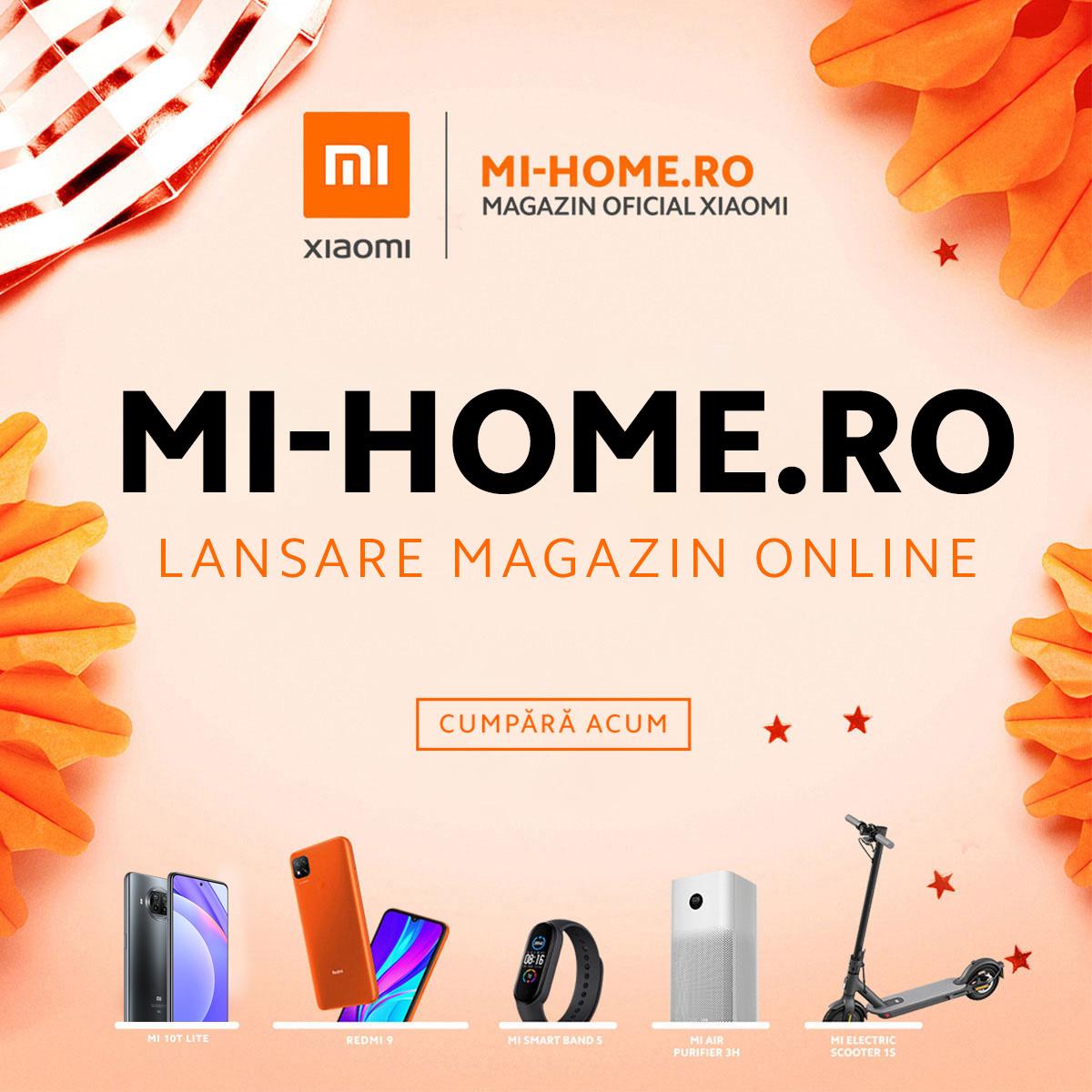 Mi-Home.ro, cea mai nouă platformă de e-commerce Xiaomi, se lansează în România