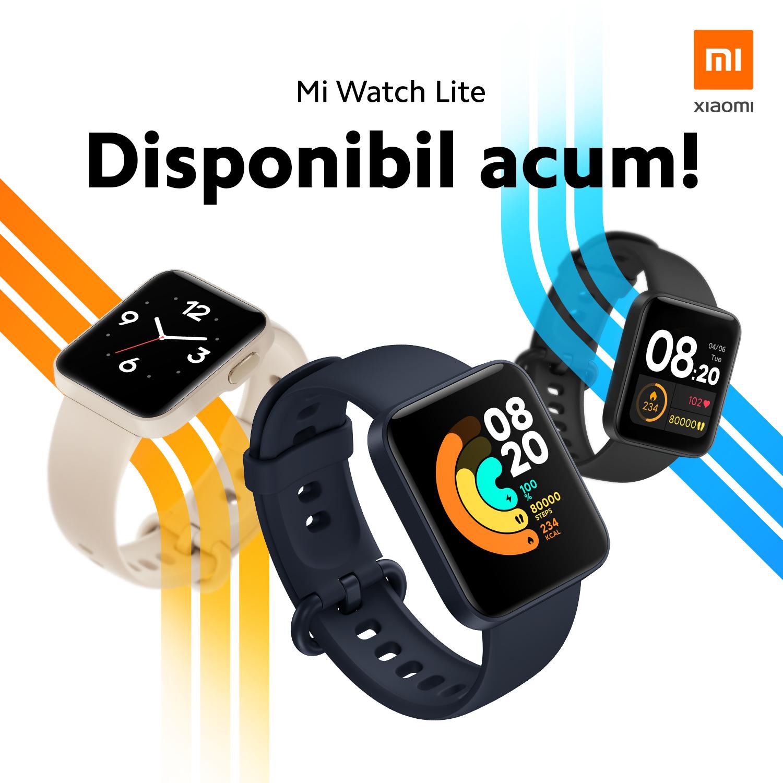 Mi Watch Lite se lansează pe piața din România