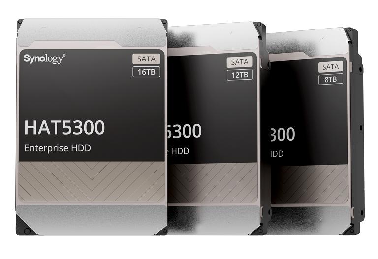 Synology intră pe piața de HDD-uri, lansând propriile model Synology HAT5300