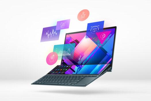 Noi laptopuri ZenBook cu două ecrane