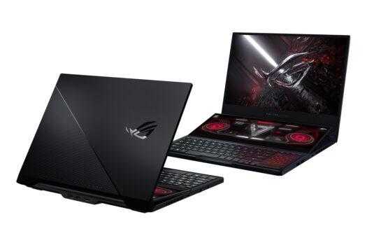 Laptop de gaming cu două ecrane