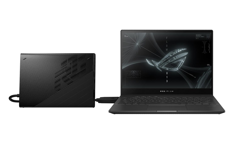 ROG prezintă laptopul de gaming convertibil Flow X13 și placa grafică externă XG Mobile