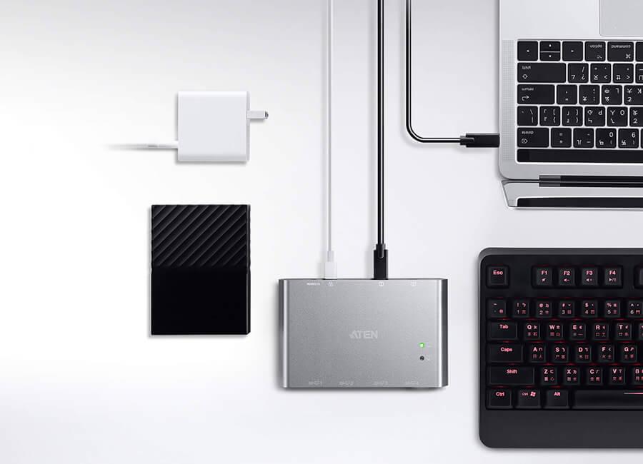 Premii PC Garage și 4 situații în care interfața USB-C poate îmbunătăți  productivitatea și conținutul de divertisment