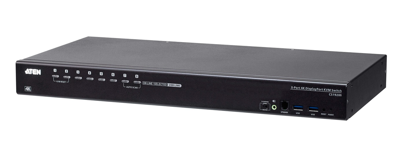 ATEN a lansat switch-uri KVM cu DisplayPort