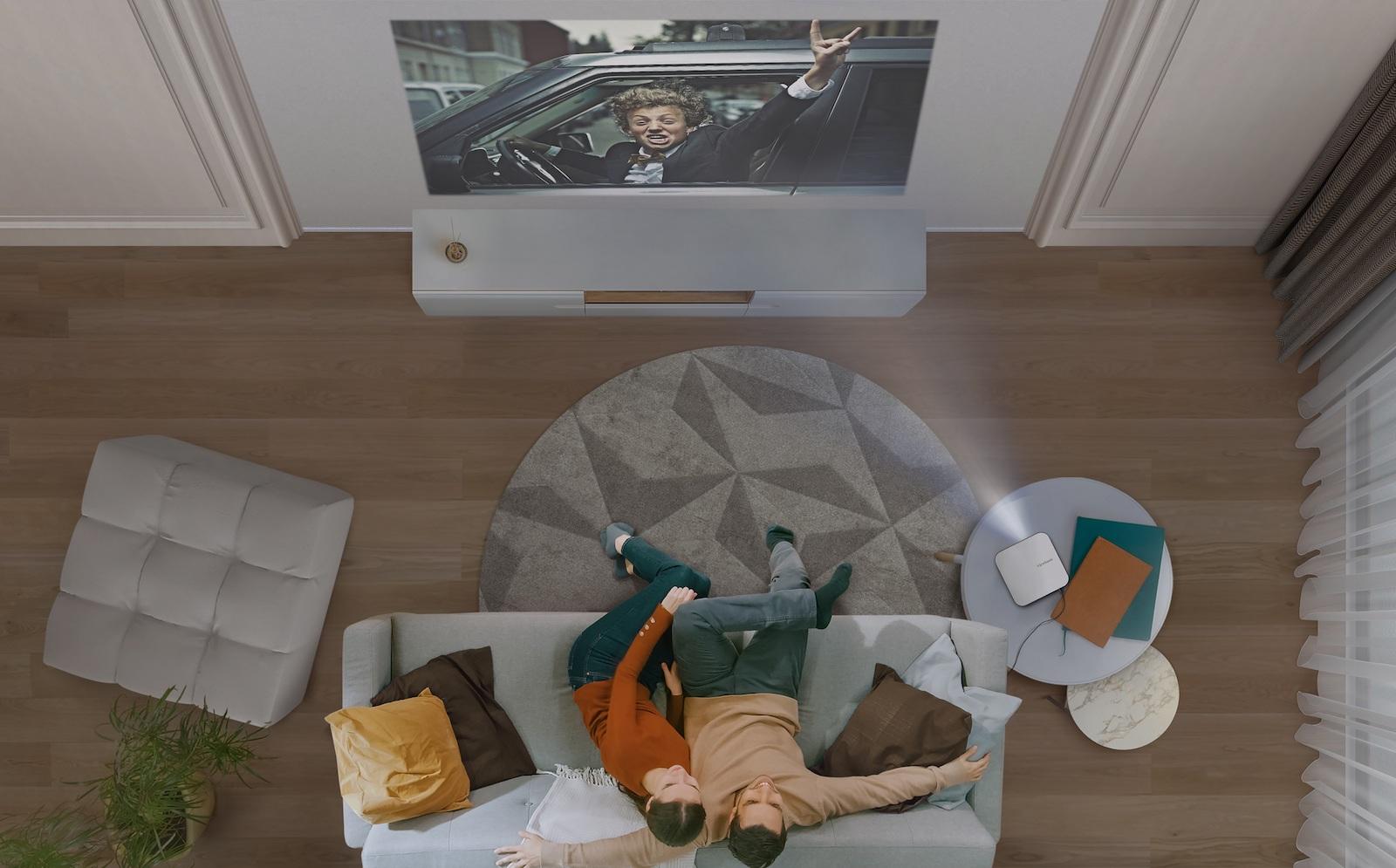 Noul video-proiector portabil cu LED – ViewSonic M2e –  echipat cu tehnologie ToF, pentru focalizare automată ultra-rapidă