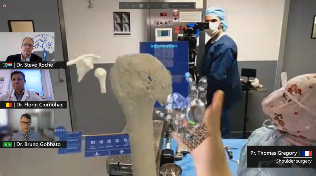Surgery with HoloLens