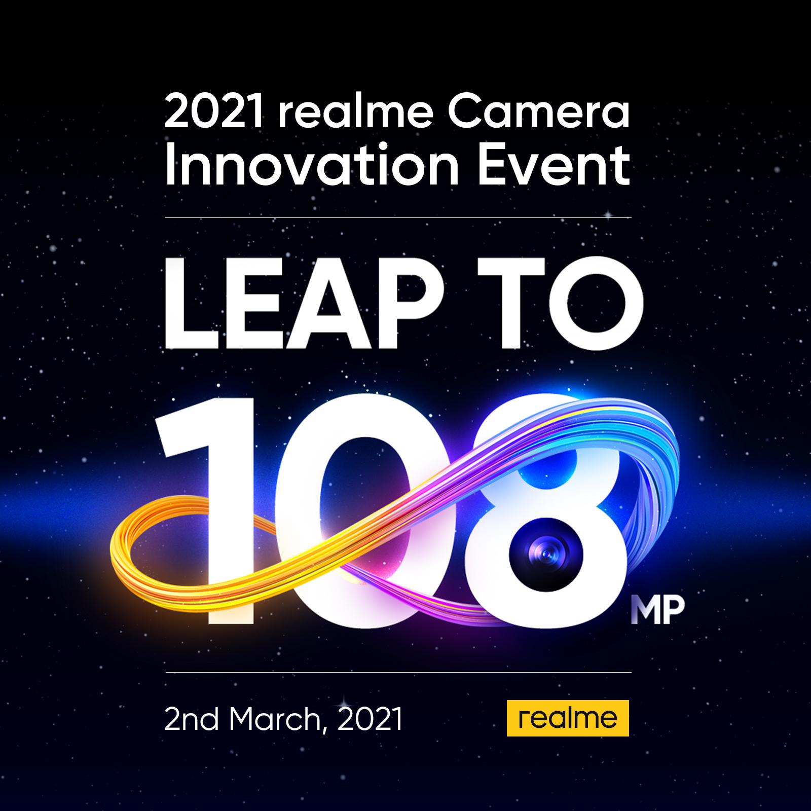 realme anunță camera de 108MP și funcții noi de fotografiere